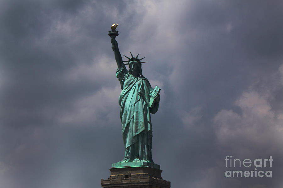 Lady Liberty Photograph by Parker ODonnell