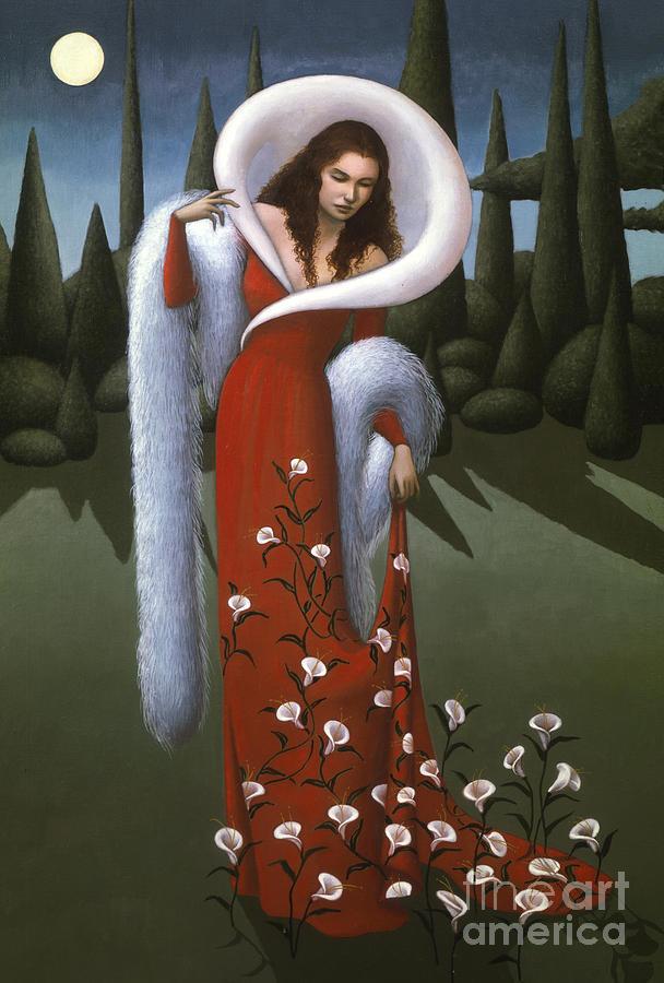 Lady  - Lady Lily by Jane Whiting Chrzanoska