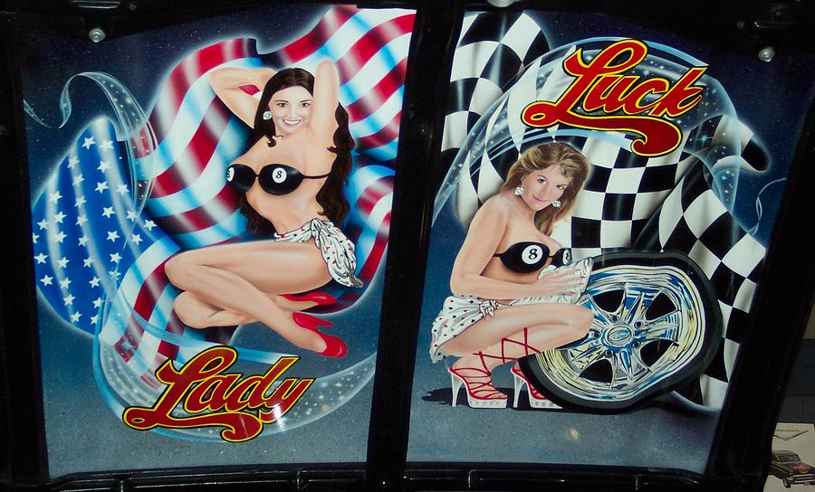 Lady Luck Photograph by Matthew Smith