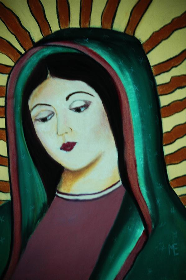 Lady Of Guadalupe Pastel - Lady Of Guadalupe by Melinda Etzold