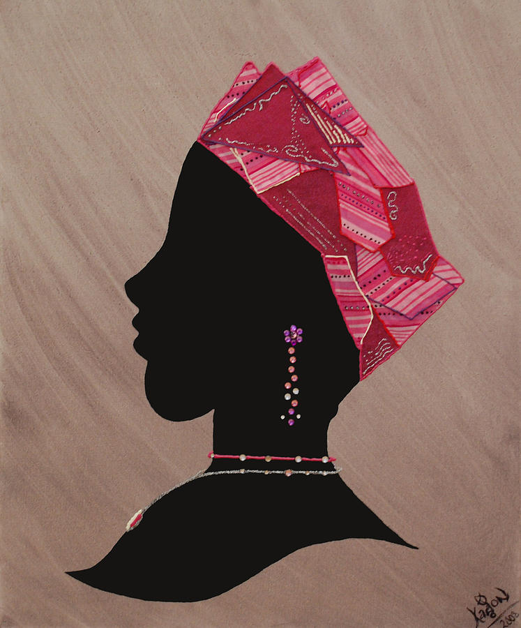 Jewelry Mixed Media - Lady Pink by Kayon Cox