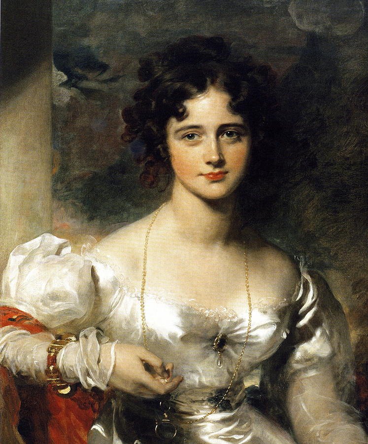 Lady Painting - Lady by Thomas Lawrence