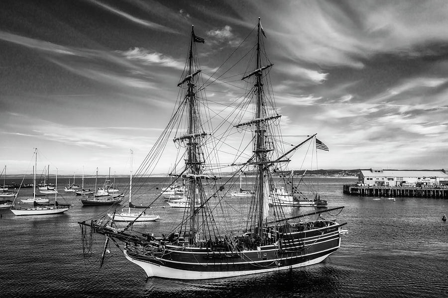 American Photograph - Lady Washington In Black And White by Garry Gay