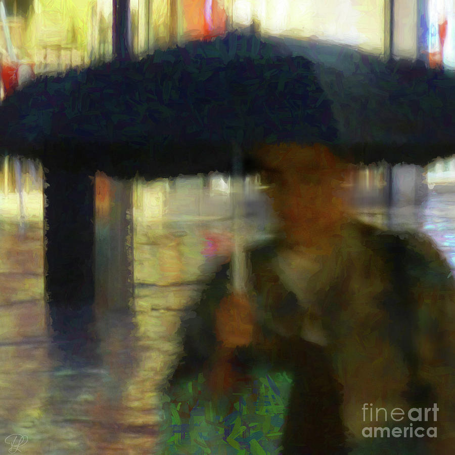 Lady with Umbrella by LemonArt Photography