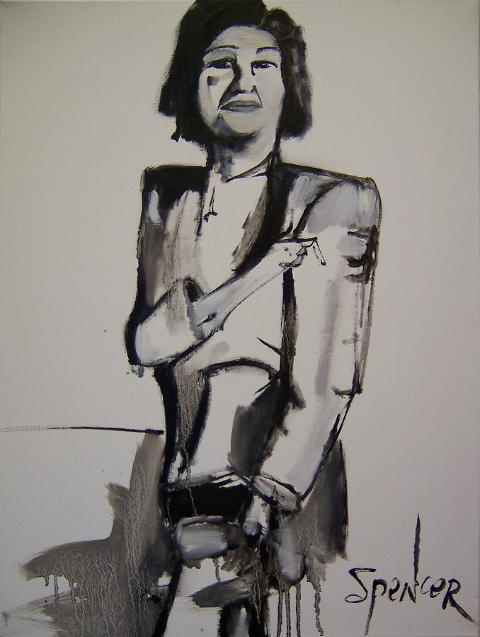 Ladyfinger Painting by Scott Spencer