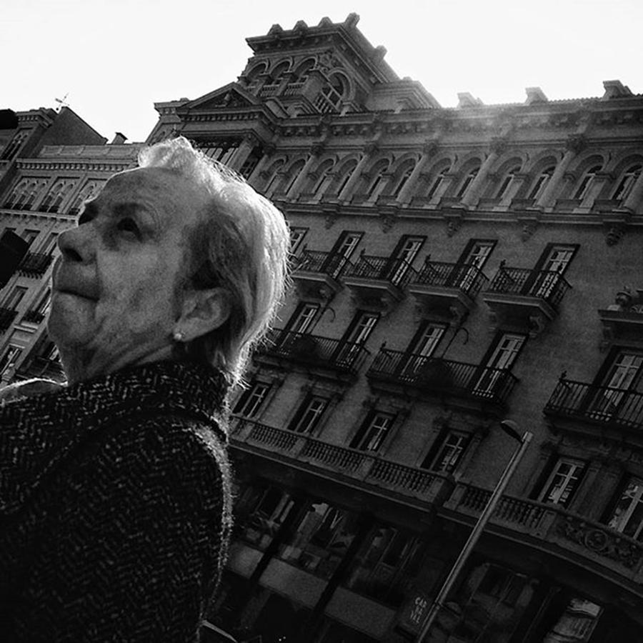 Citylife Photograph - Lady  #people #instapeople by Rafa Rivas