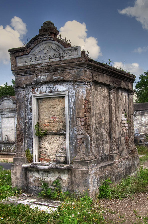New Orleans Photograph - Lafayette Crypt 2 by Tammy Wetzel