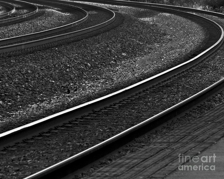 Photograph Photograph - Lafayette Tracks by John Hermann