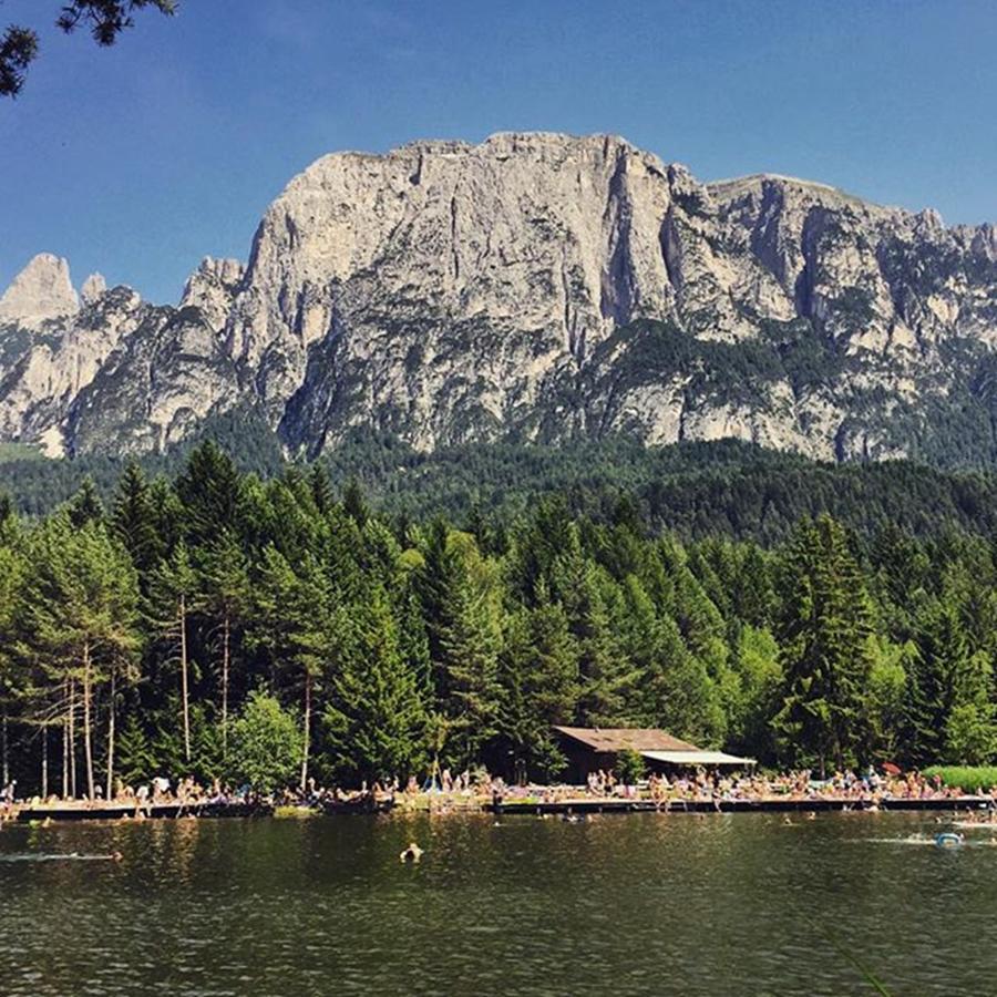 Mountain Photograph - Laghetti Di Fiè #altoadige #landscape by Luisa Azzolini