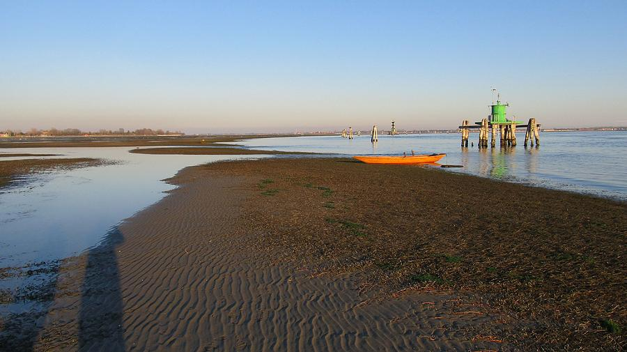 Venice Photograph - Lagoon At Low Tide by Erla Zwingle