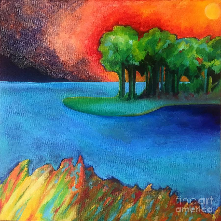 Laguna Blu by Elizabeth Fontaine-Barr