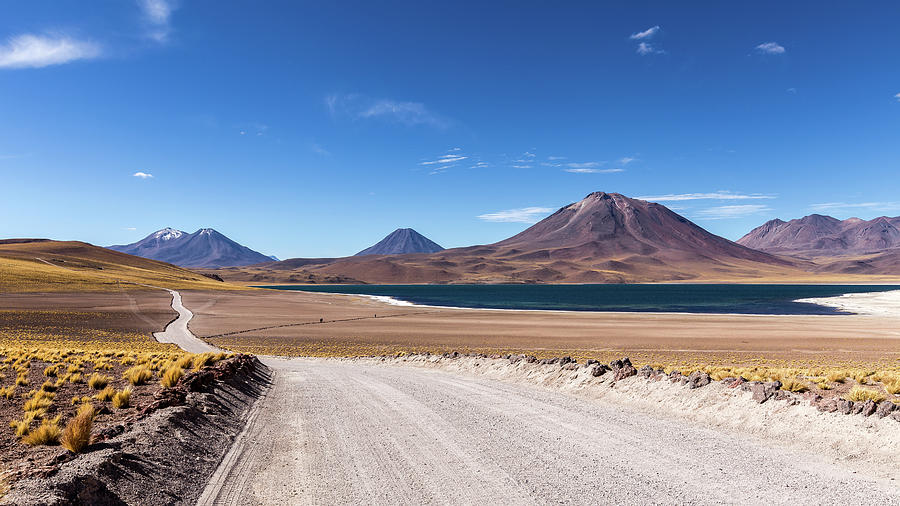 Landscape Photograph - Laguna Miscanti by Victor Lima