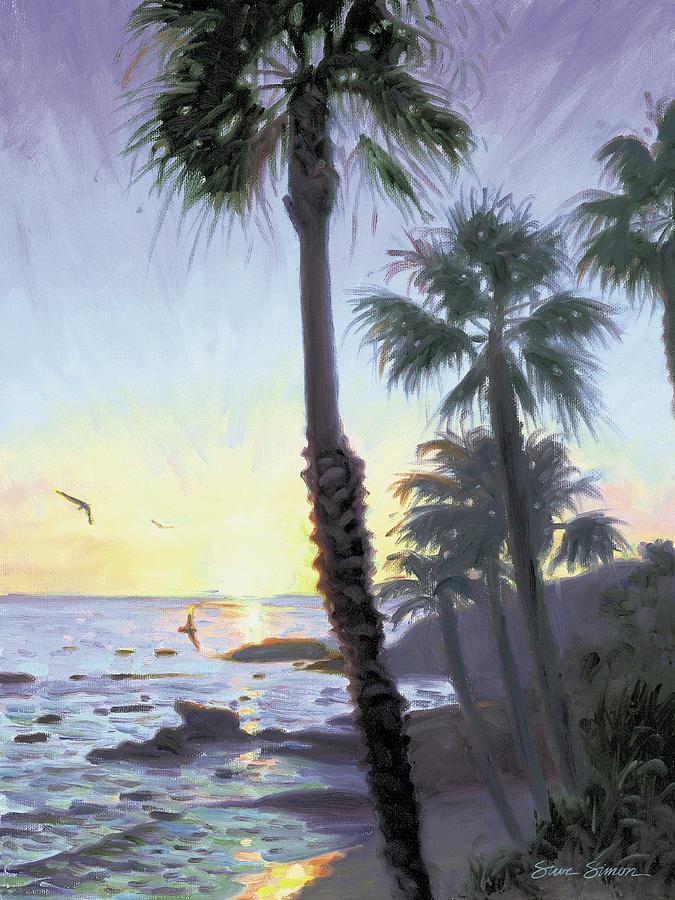 Laguna Sunset by Steve Simon