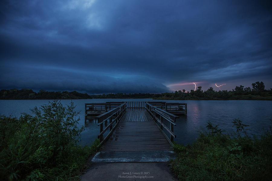 Shelf Photograph - Lake Alvin Shelf  by Aaron J Groen