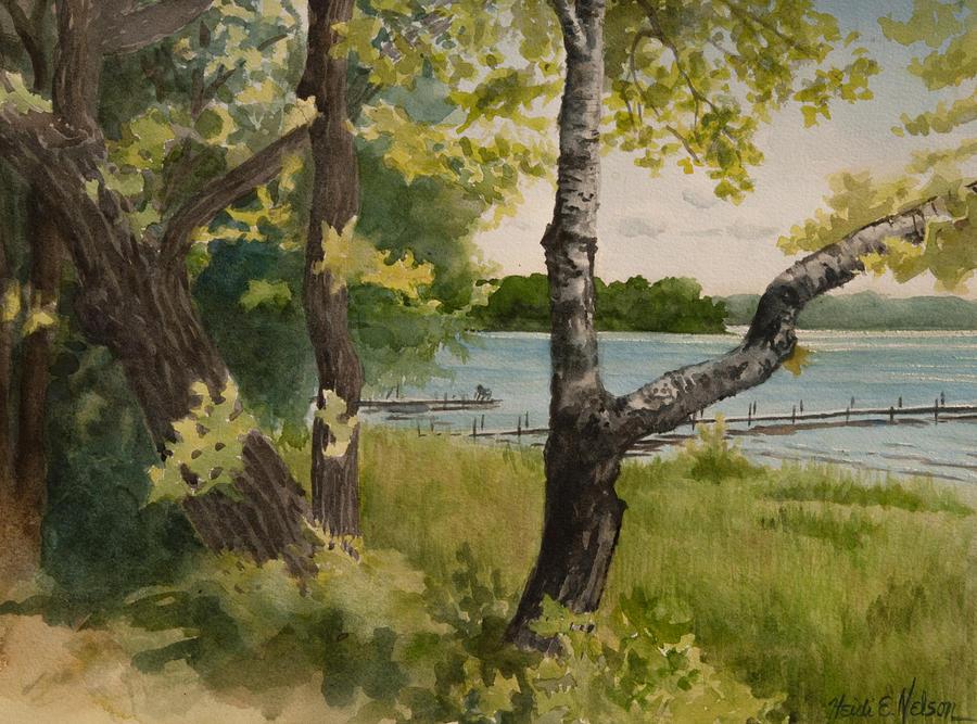 Lake Avenue View by Heidi E Nelson