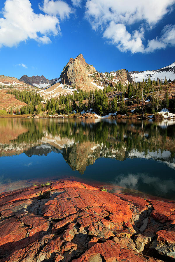 Pristine Photograph - Lake Blanche Spring Vertical by Johnny Adolphson