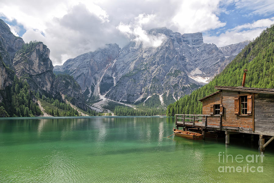 Lake Photograph - Lake Braies by Yair Karelic