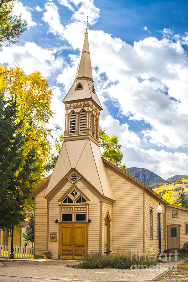 Lake City Church by Jim McCain
