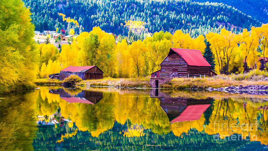 Lake City Reflections by Jim McCain