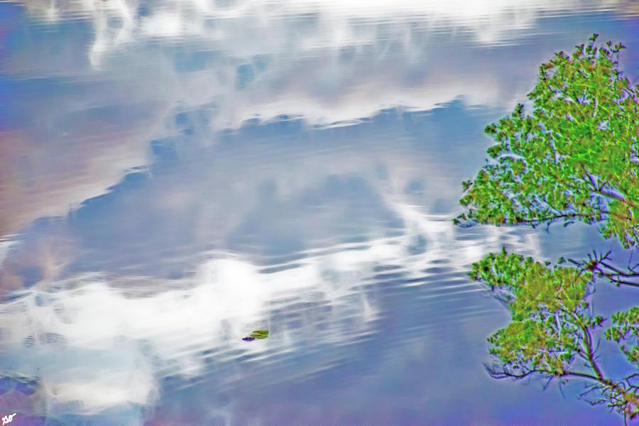 Lake Cloud Reflections by Gina O'Brien