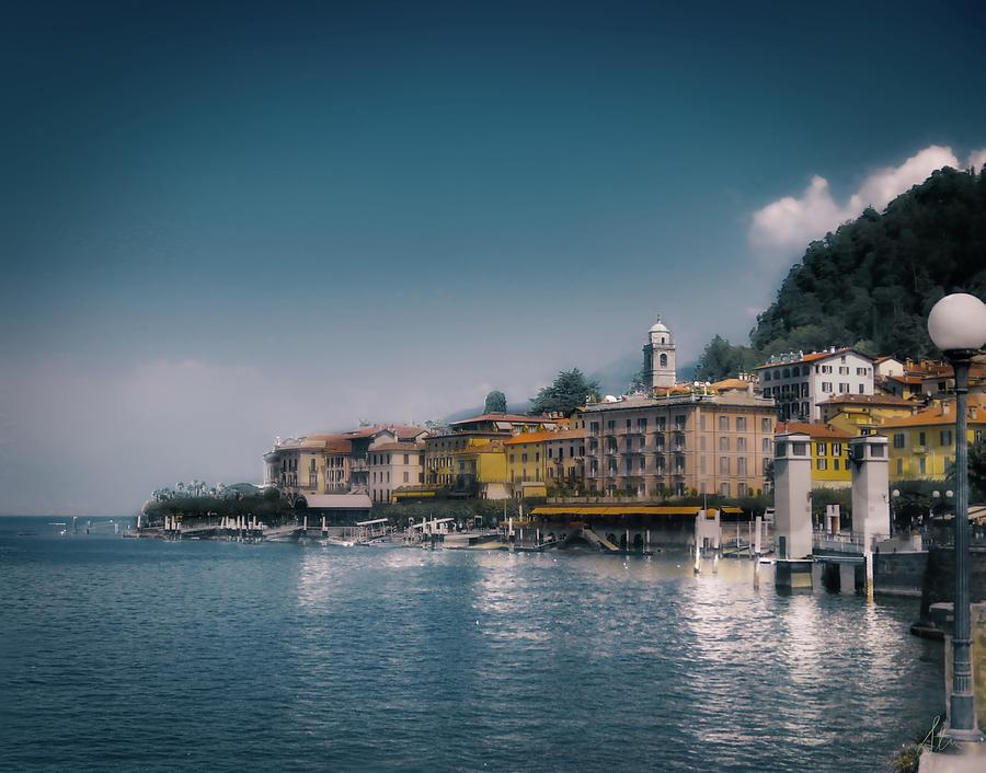 Lake Photograph - Lake Como Retreat by Stuart Smith