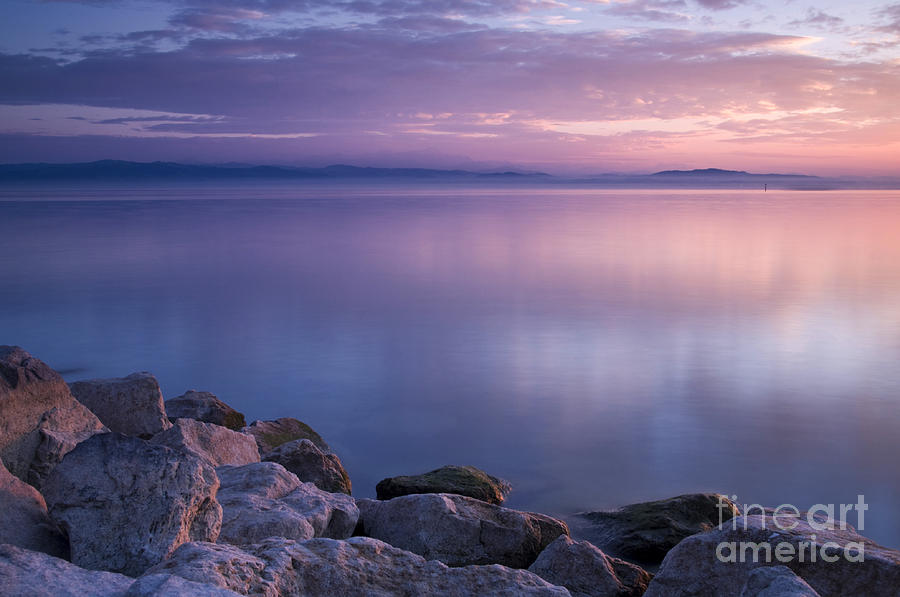 Landscape Photograph - Lake Constance by Silke Magino