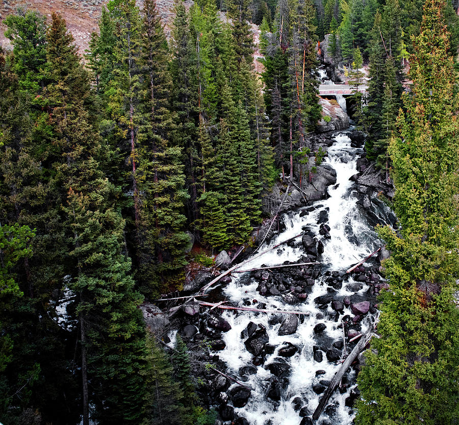 Lake Creek Falls by Alex Galkin