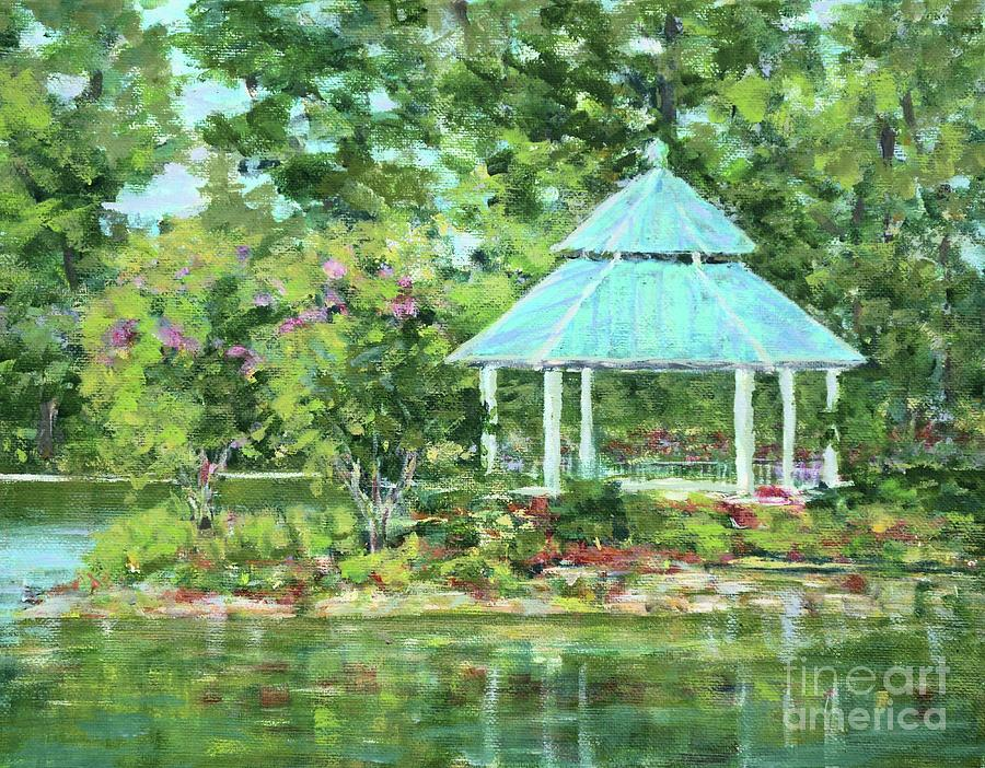 Lake Ella Gazebo by Gail Kent