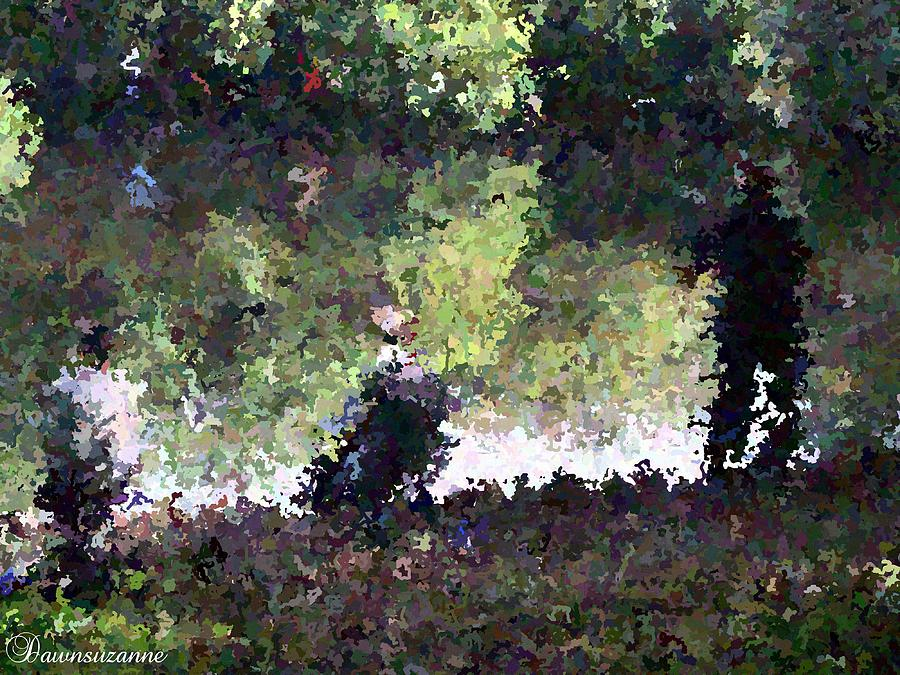 Fishing Painting - Lake Fishing Impressionist Painting by Dawn Hay