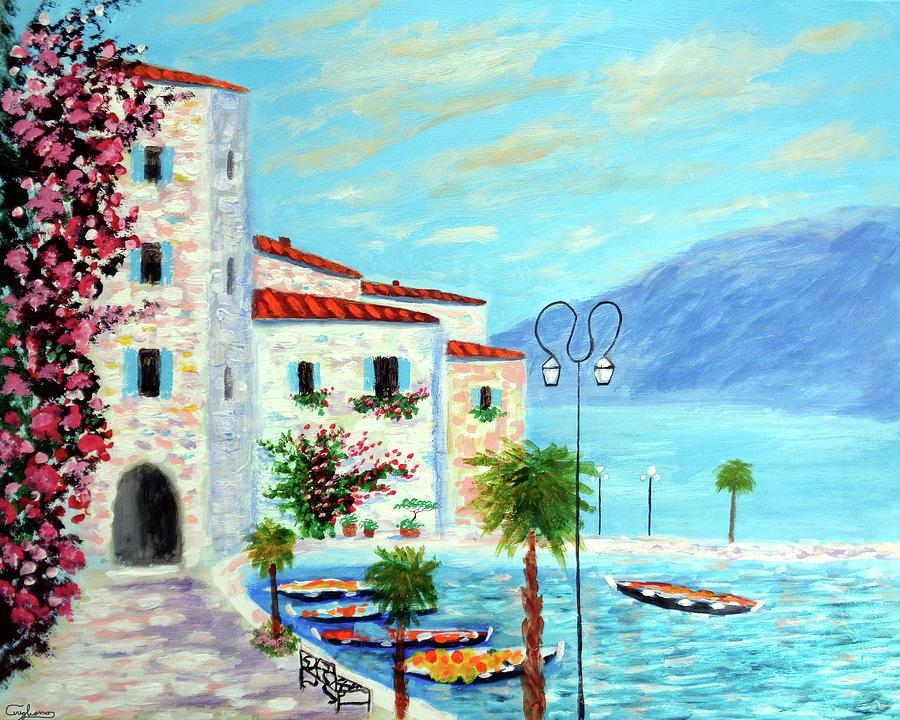 Lake Garda bliss by Larry Cirigliano