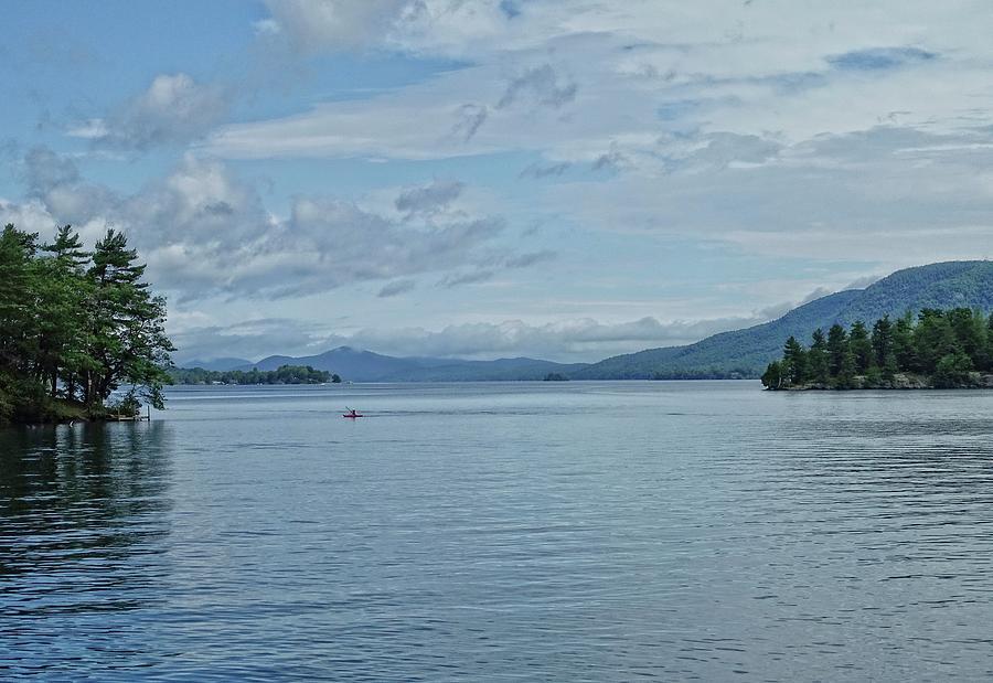 Lake George Kayaker by Russ Considine