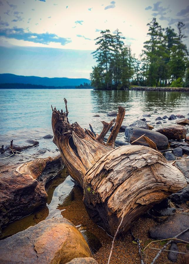 Lake George Elements Photograph by Kendall McKernon