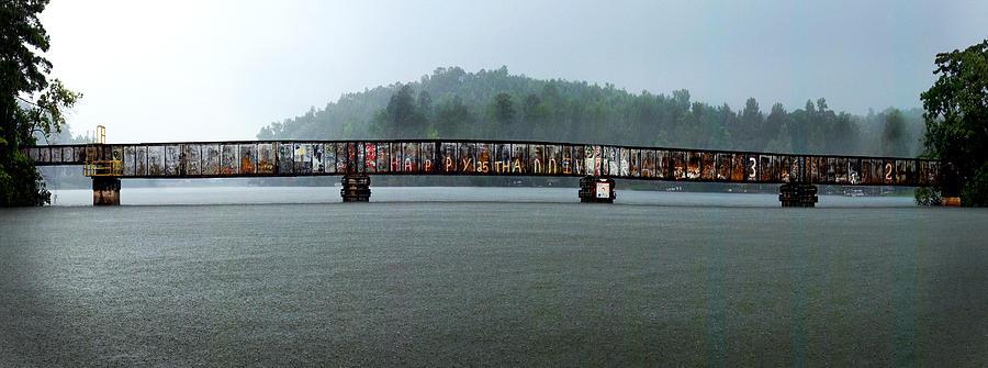 Lake Harding Train Bridge Photograph
