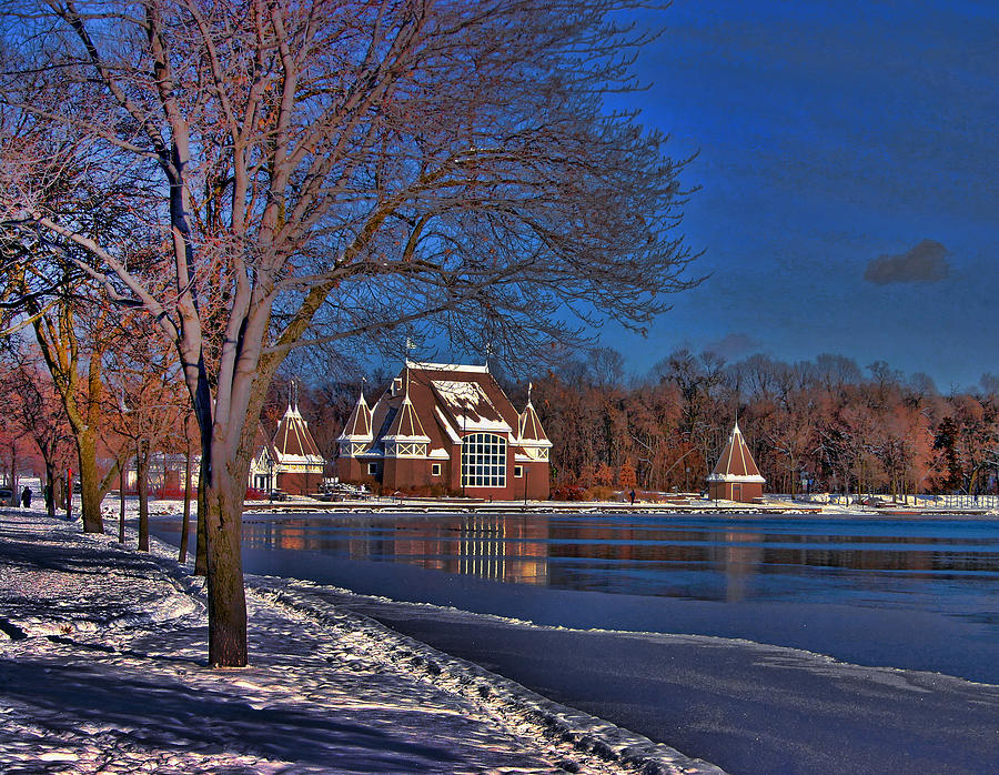 Lake Harriet Bandshell Photograph - Lake Harriet Bandshell by Laurie Prentice