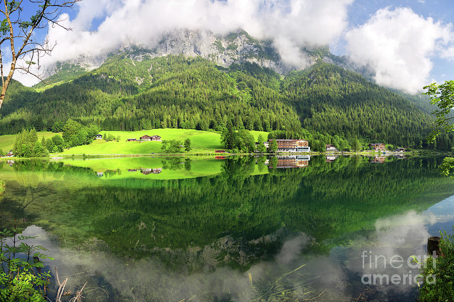 Lake Photograph - Lake Hintersee by Yair Karelic