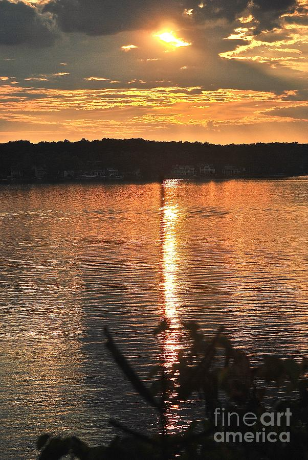 Lake James Photograph by Christine Scott
