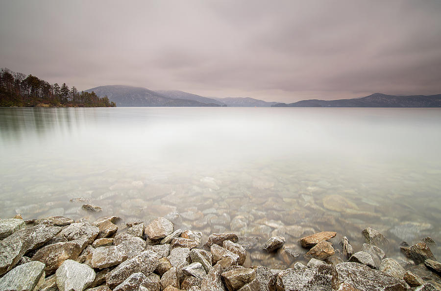 Lake Jocassee Photograph - Lake Jocassee 12 by Derek Thornton