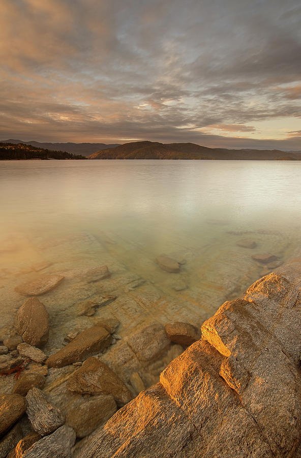 Lake Jocassee Photograph - Lake Jocassee 17 by Derek Thornton