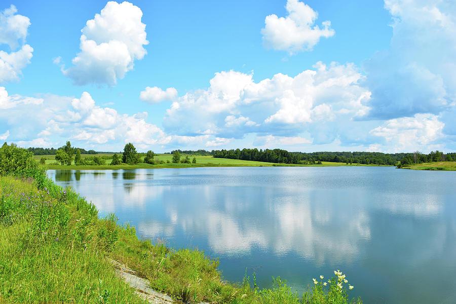 Lake Photograph - Lake by Konstantin Bibikov