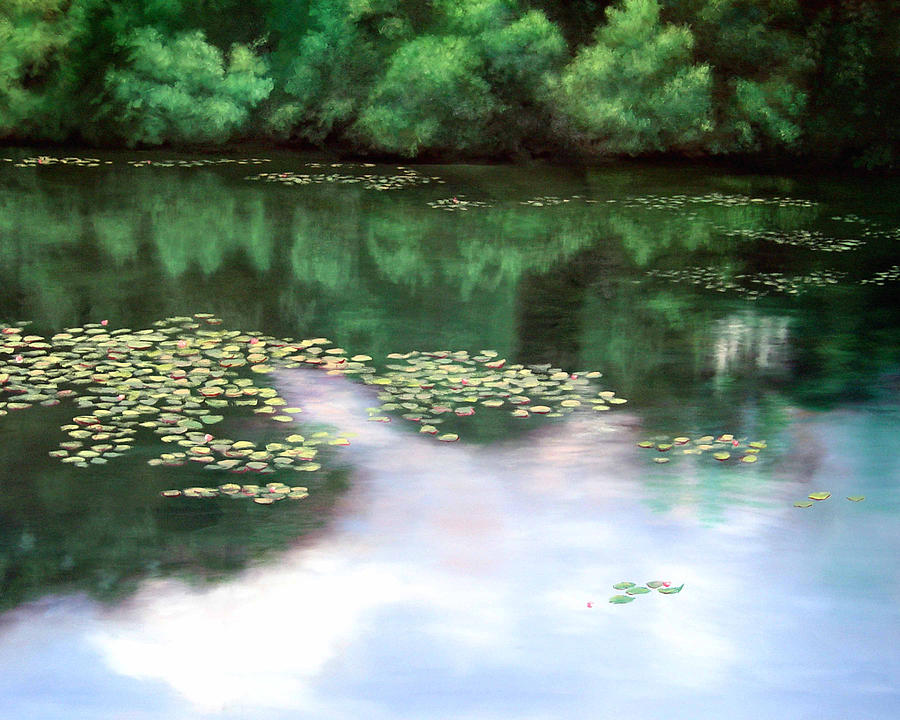 Florida Painting - Lake Lancaster by Diane Martens