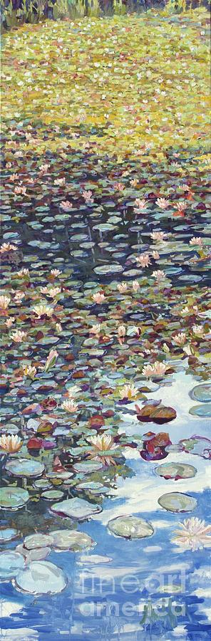 Lake Lenape Lilies by Patricia A Griffin