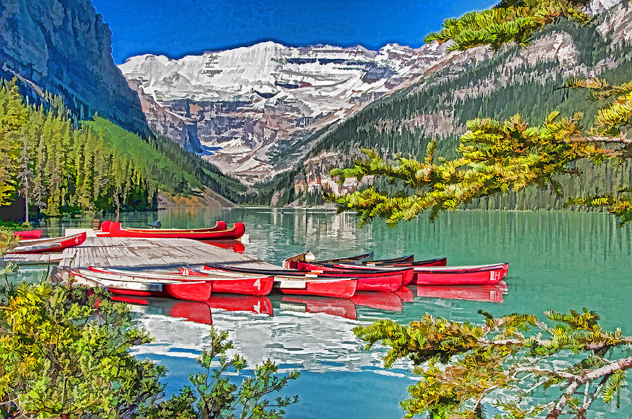 Canada Photograph - Lake Louise by Dennis Cox WorldViews