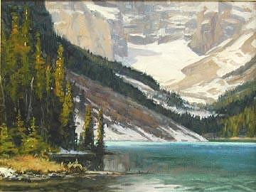 Lake Louise Painting - Lake Louise by Tony Bianco