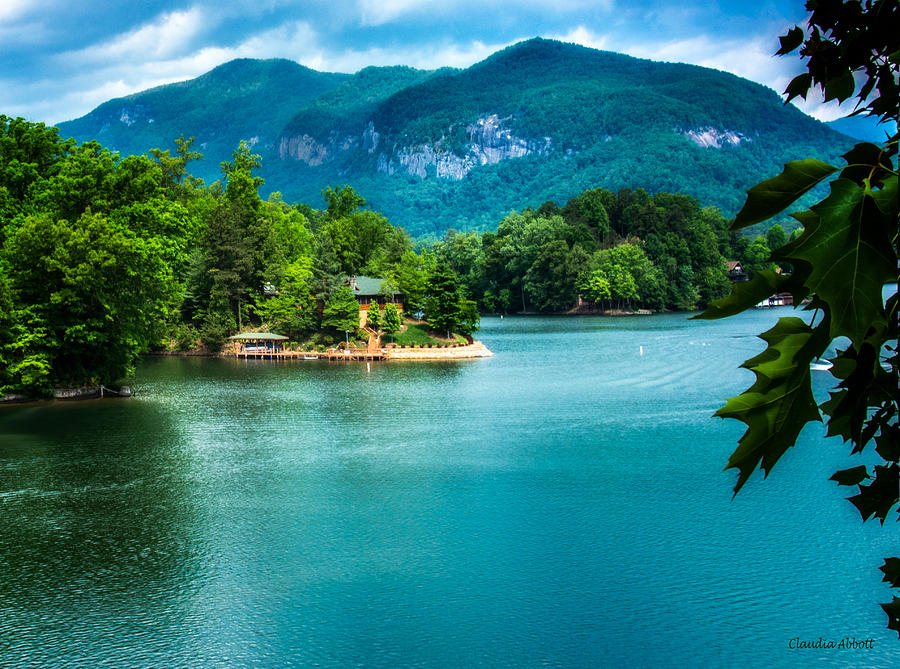 Lake Lure, North Carolina by Claudia Abbott