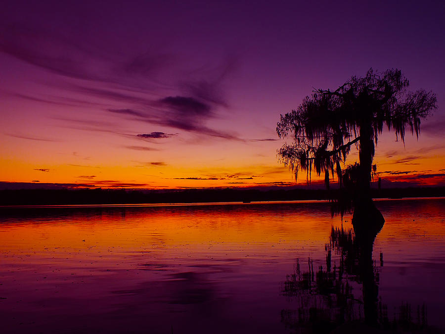 Lake Photograph - Lake Martin Sunset No.10 by Michael DeBlanc