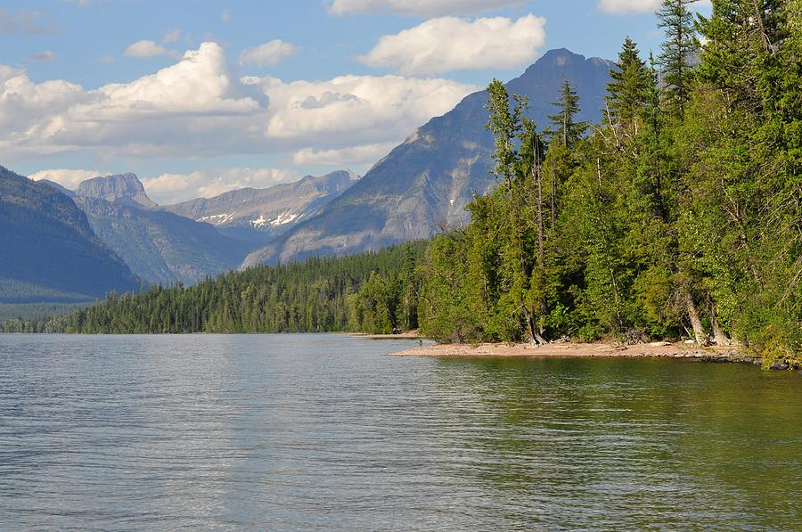 Nature Photograph - Lake Mcdonald by D Nigon