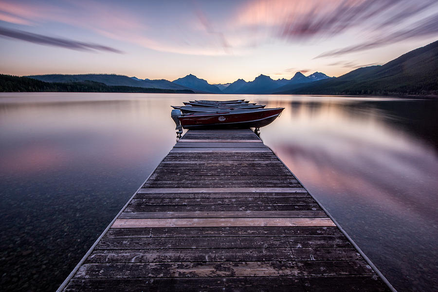 Lake Mcdonald Morning Photograph