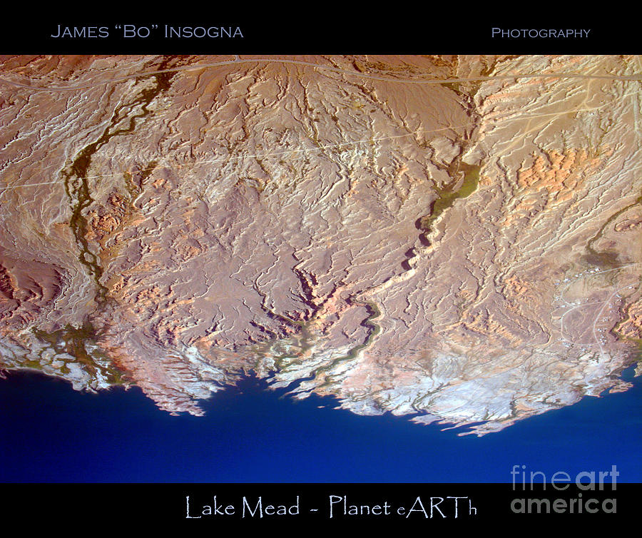 Lake Mead - Planet Art Photograph