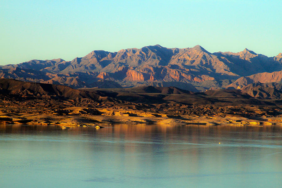 Lake Mead Photograph - Lake Mead Before Sunset by Bonnie Follett