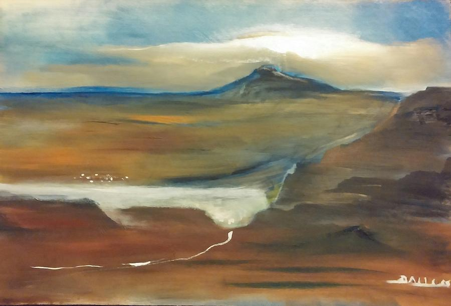 Painting - Lake Mead by Gregory Dallum